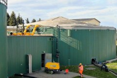 Biogas Tank Cleaning
