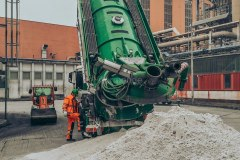 Suction excavator