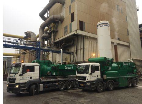 Industrial Vacuum Cleaning (Suction Excavators) Services