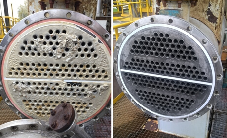 Heat Exchanger Cleaning & Bundle Extraction service in Central and Eastern Europe