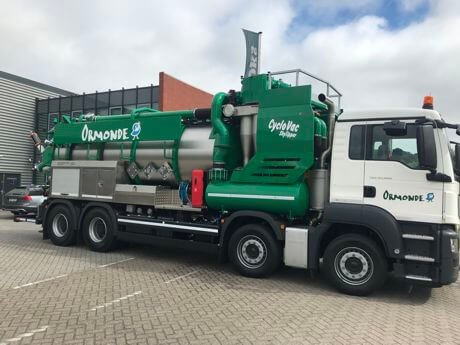 Our latest Industrial Vacuum Loader has arrived