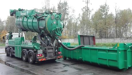 Czyszczenie biogazowni – Czyszczenie zbiorników fermentacyjnych / fermentorów