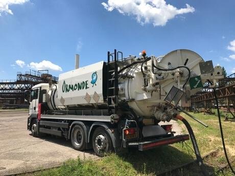 Čištění kanalizace / čištění potrubí / čištění produktovodů