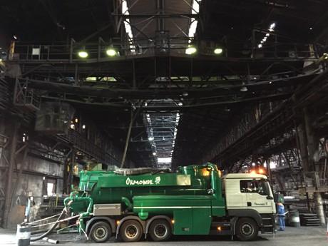 Odkurzanie obiektów przemysłowych