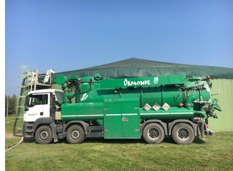 Služby čistenia bioplynových staníc